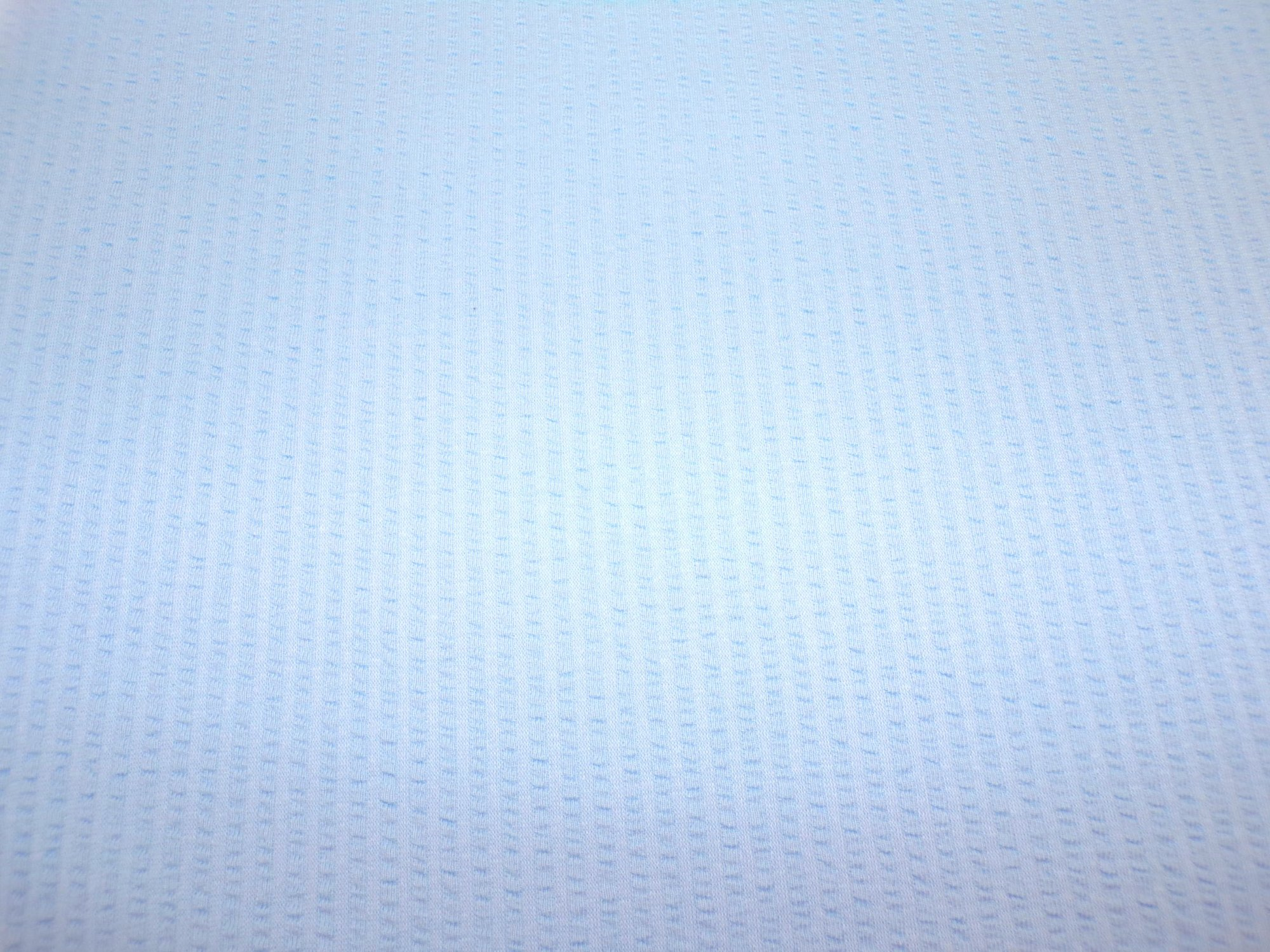 Cotton Jersey - Blue Seersucker