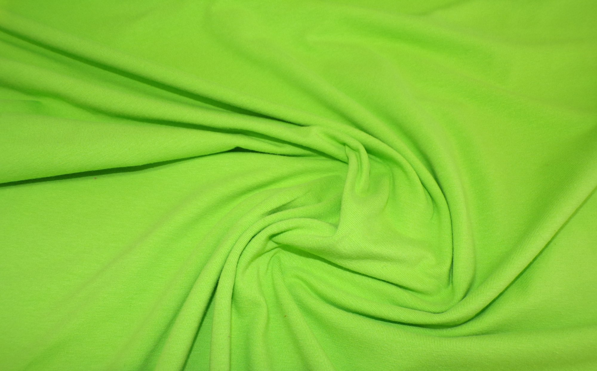 Cotton Lycra Jersey - Bright Lime