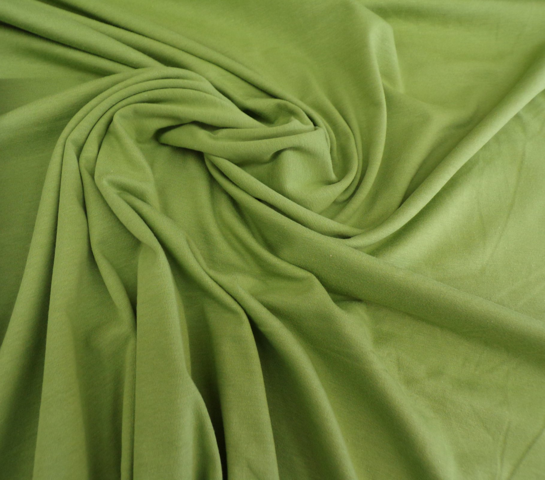 Cotton Lycra Jersey - Fern Green