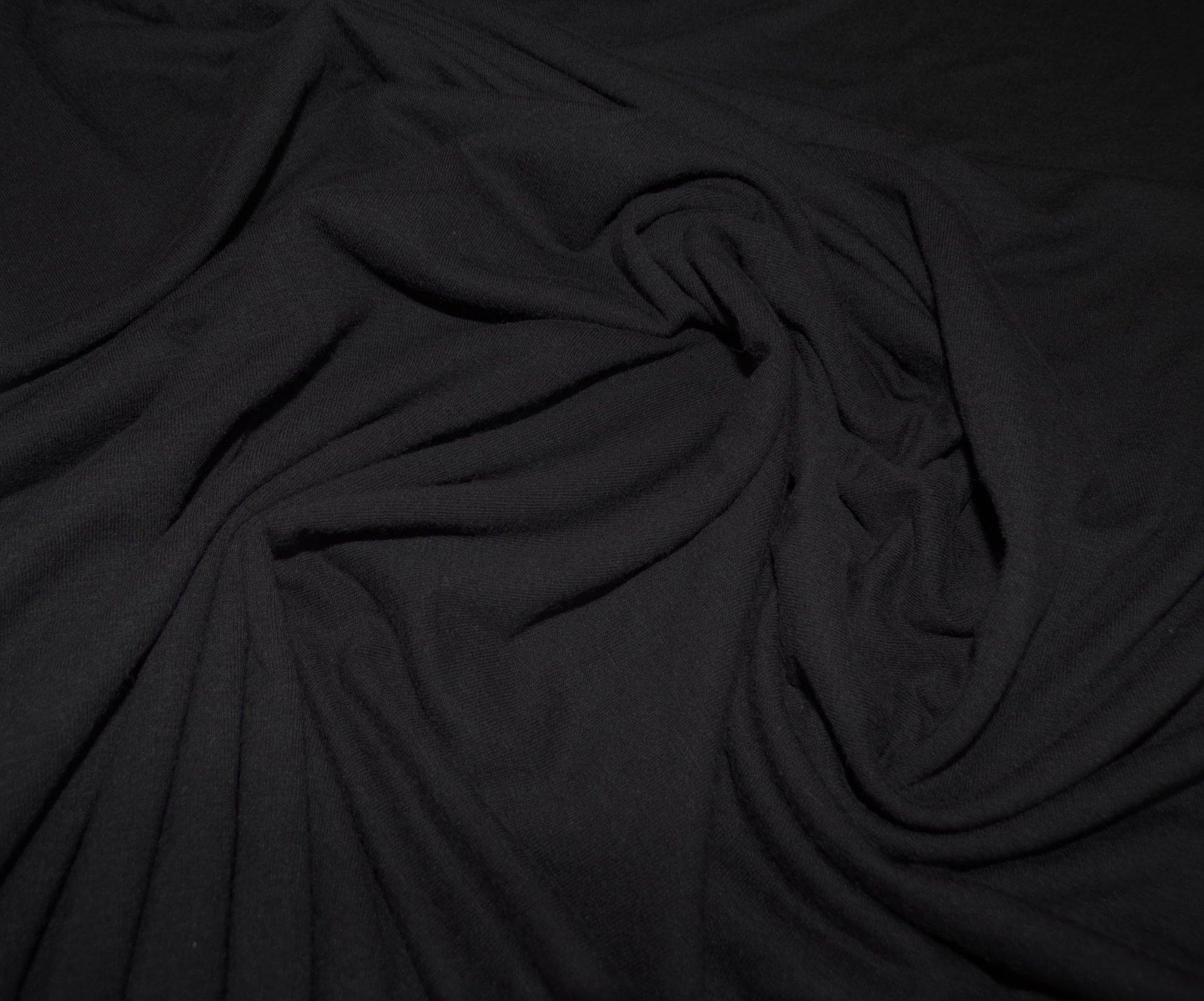 Cotton Lycra Jersey - Black