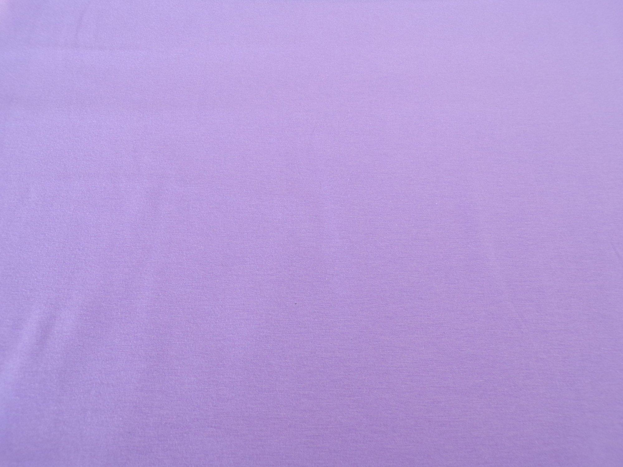 Cotton Lycra Jersey - Lilac