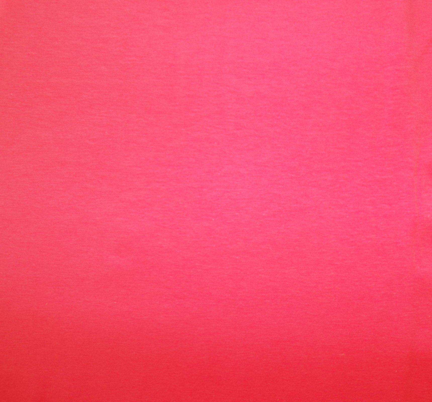 Cotton Lycra Jersey - Bubble Gum Pink
