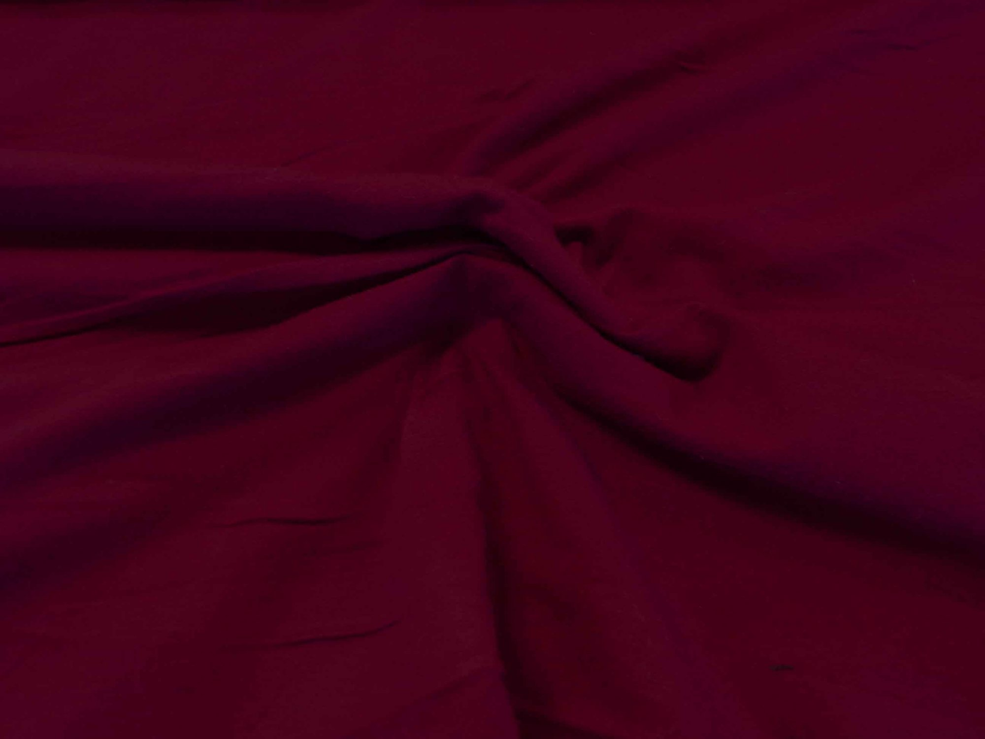 Cotton Lycra Jersey - Burgundy