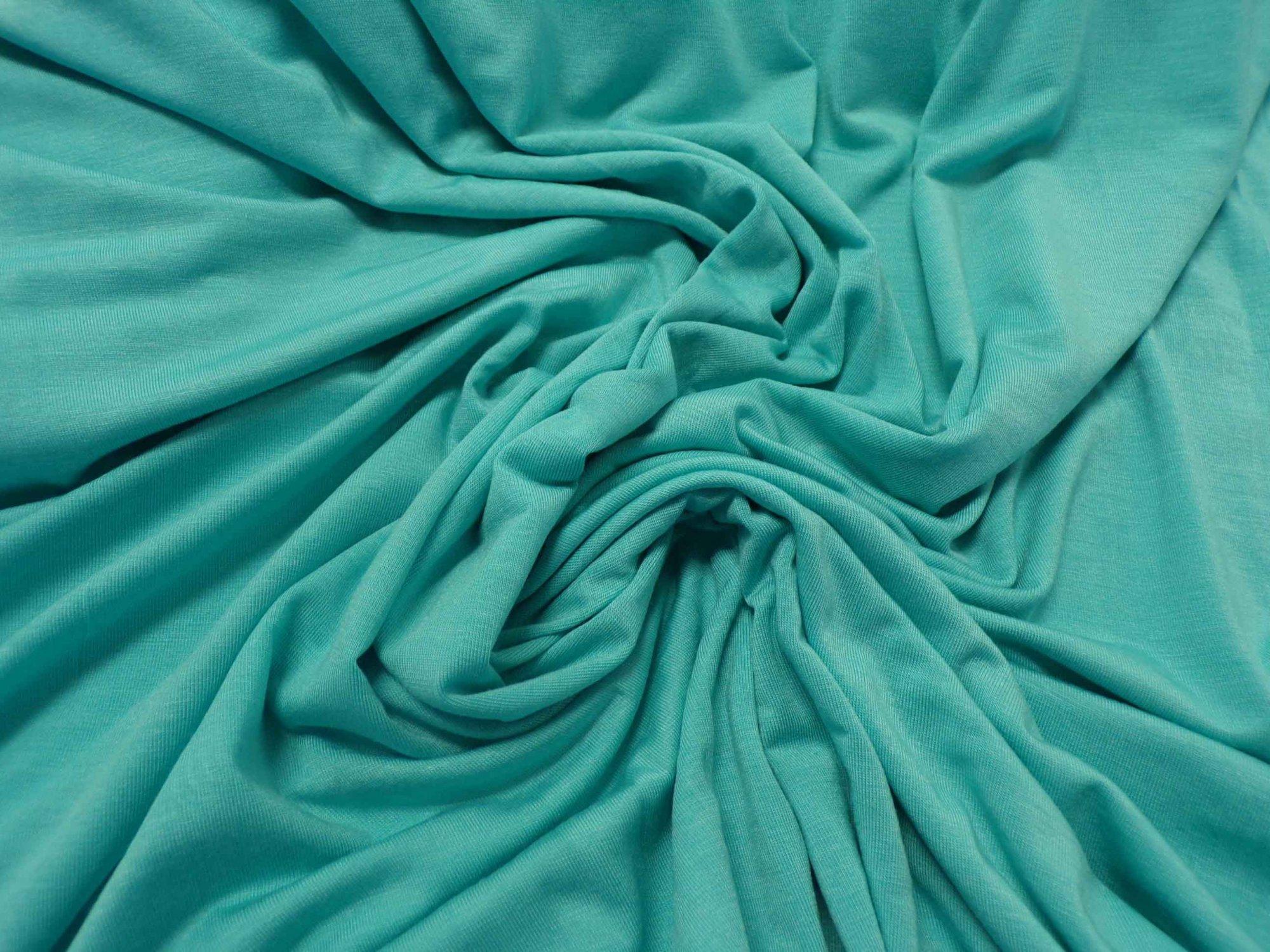 Lightweight Modal Lycra Jersey - Jade