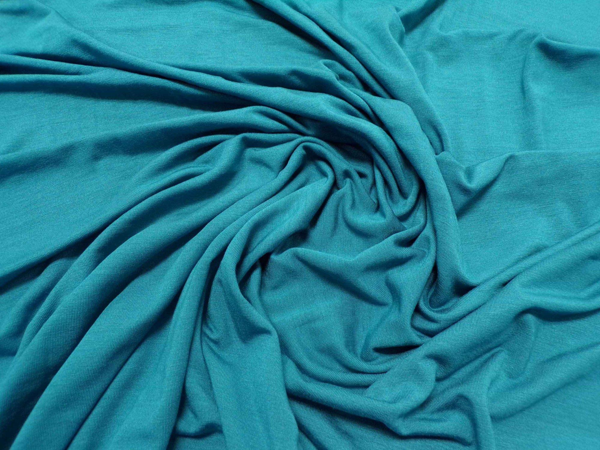 Lightweight Modal Lycra Jersey - Dark Teal