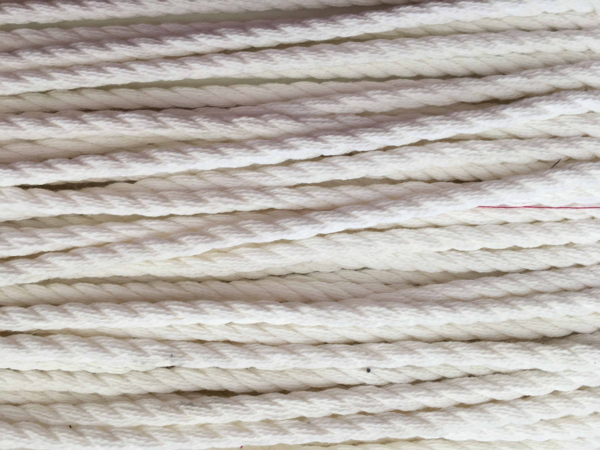 3/8 Cotton Cord for Drawstrings