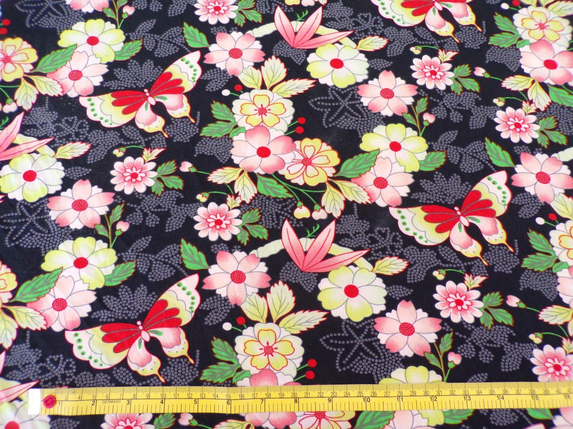 Milana (DBP) - Black Floral Blossoming Garden