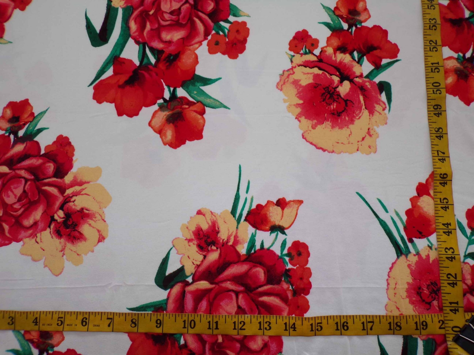 Milana (DBP) - Ivory with Orange Roses