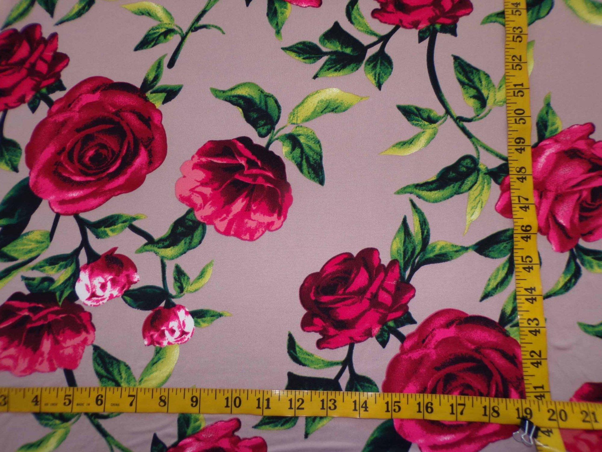 Milana (DBP) - Tan with Large Roses