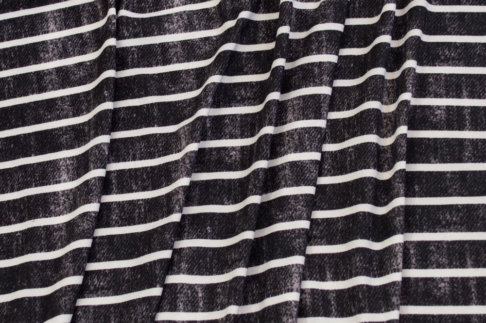 Milana (DBP) - Grunge Stripes - Black and White