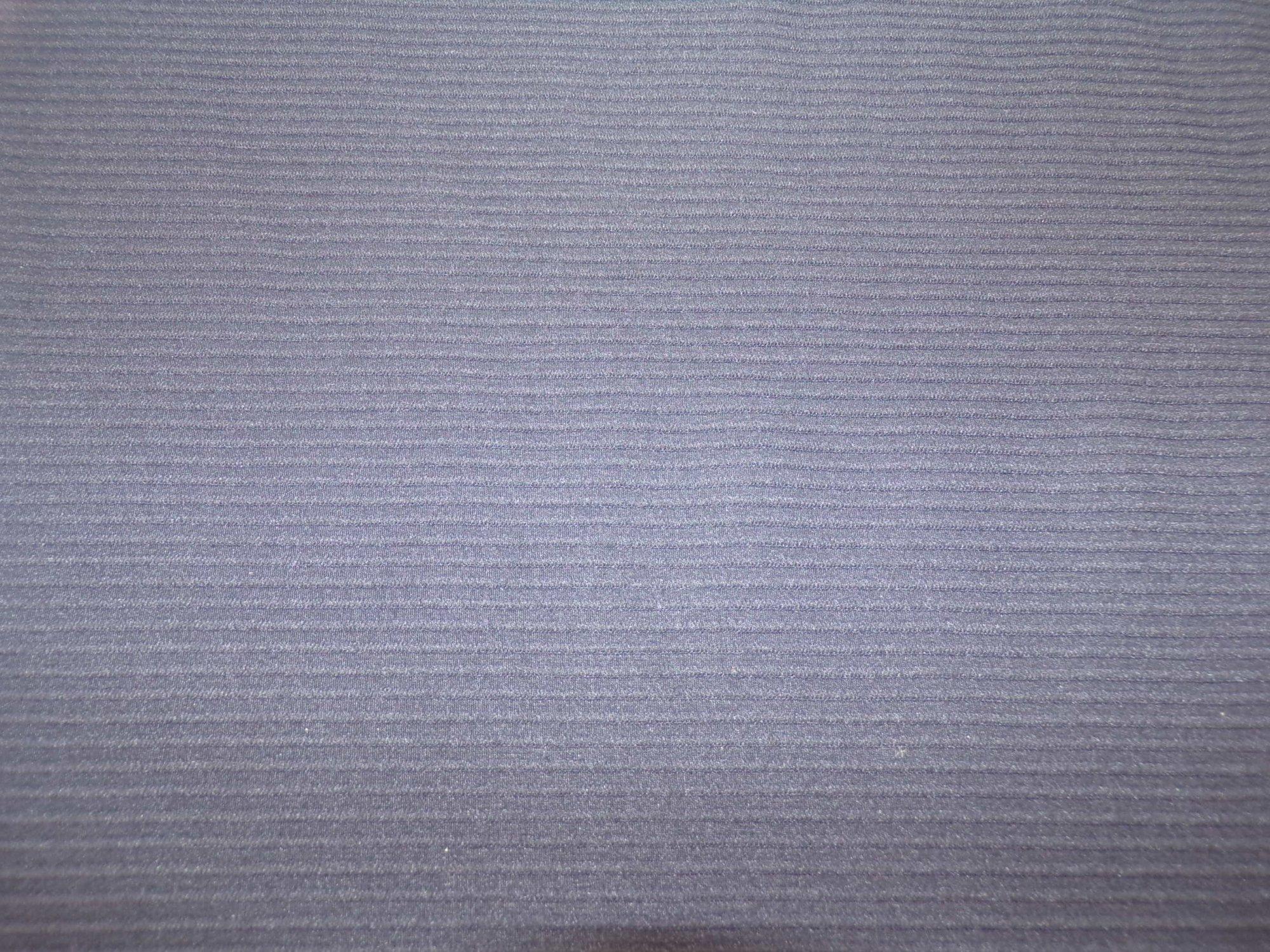 Designer Knit - Midnight Navy Textured Stripes