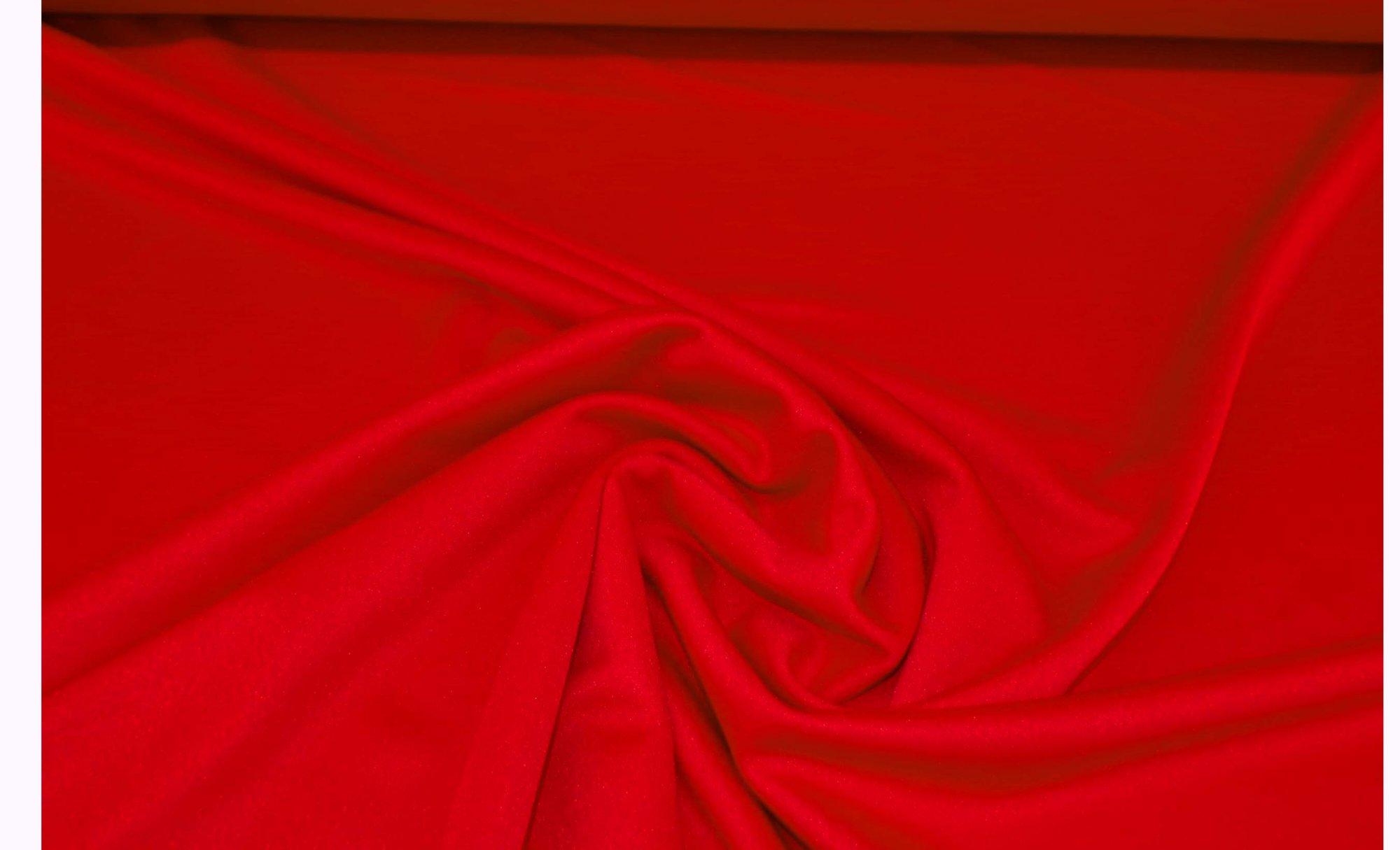 Red Ponte (Scuba) Knit - 8 oz - 58in
