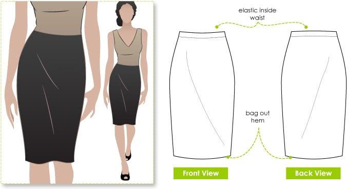Style Arc Fay Skirt Pattern