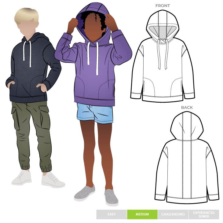 Style Arc Kids Fitzroy Hoody