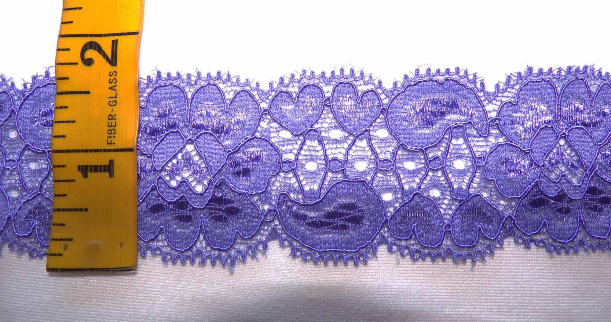 1 5/8 Grape Stretch lace (GRSL341)