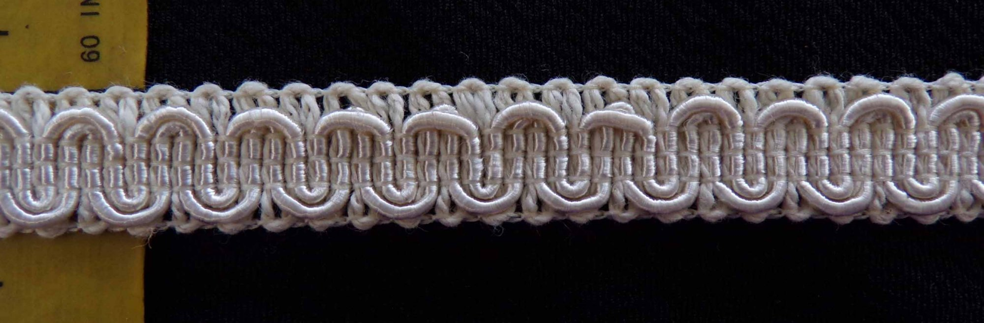 1/2 Braid Trim - Ivory
