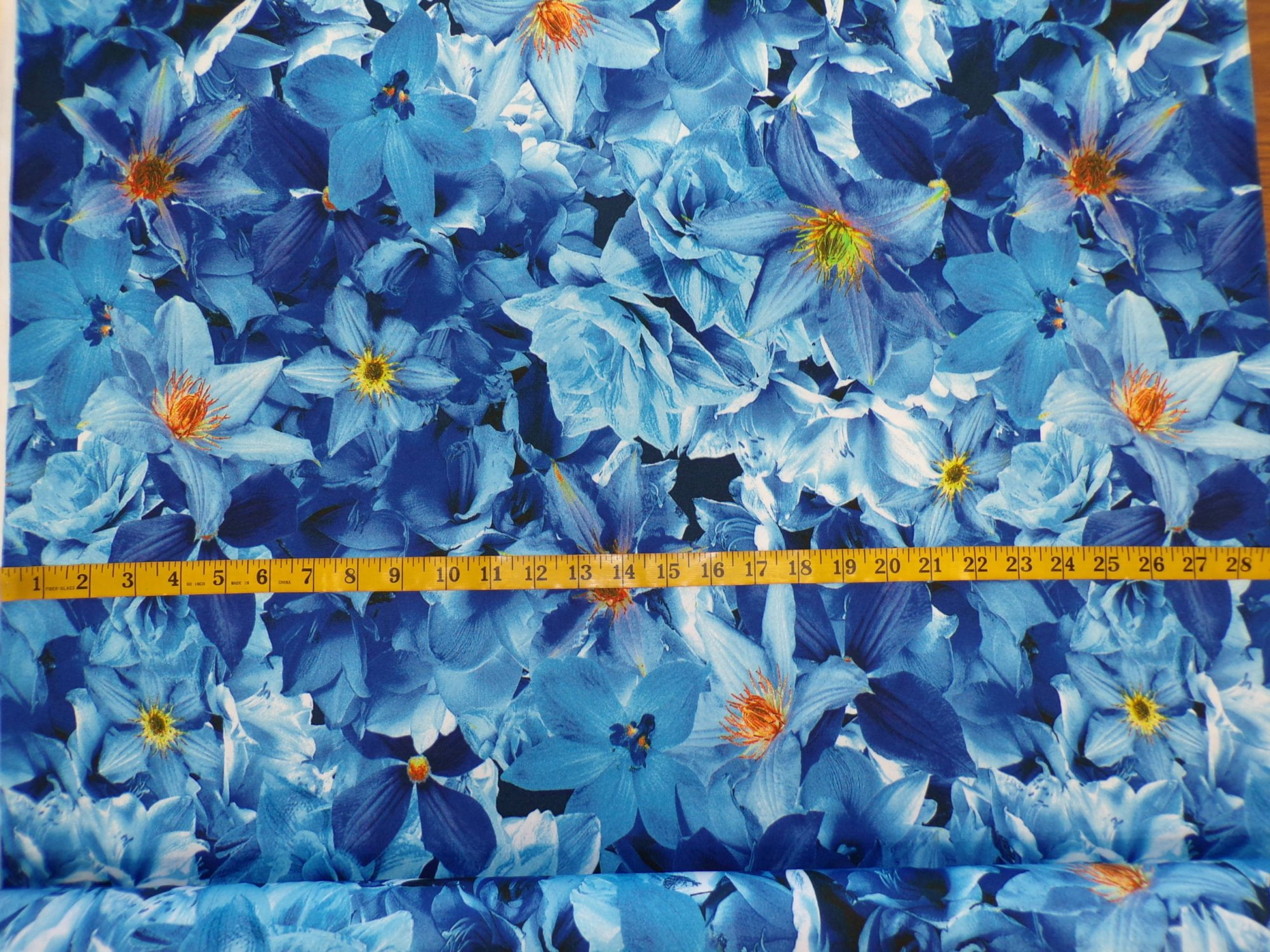 ITY Jersey ? Blue Floral