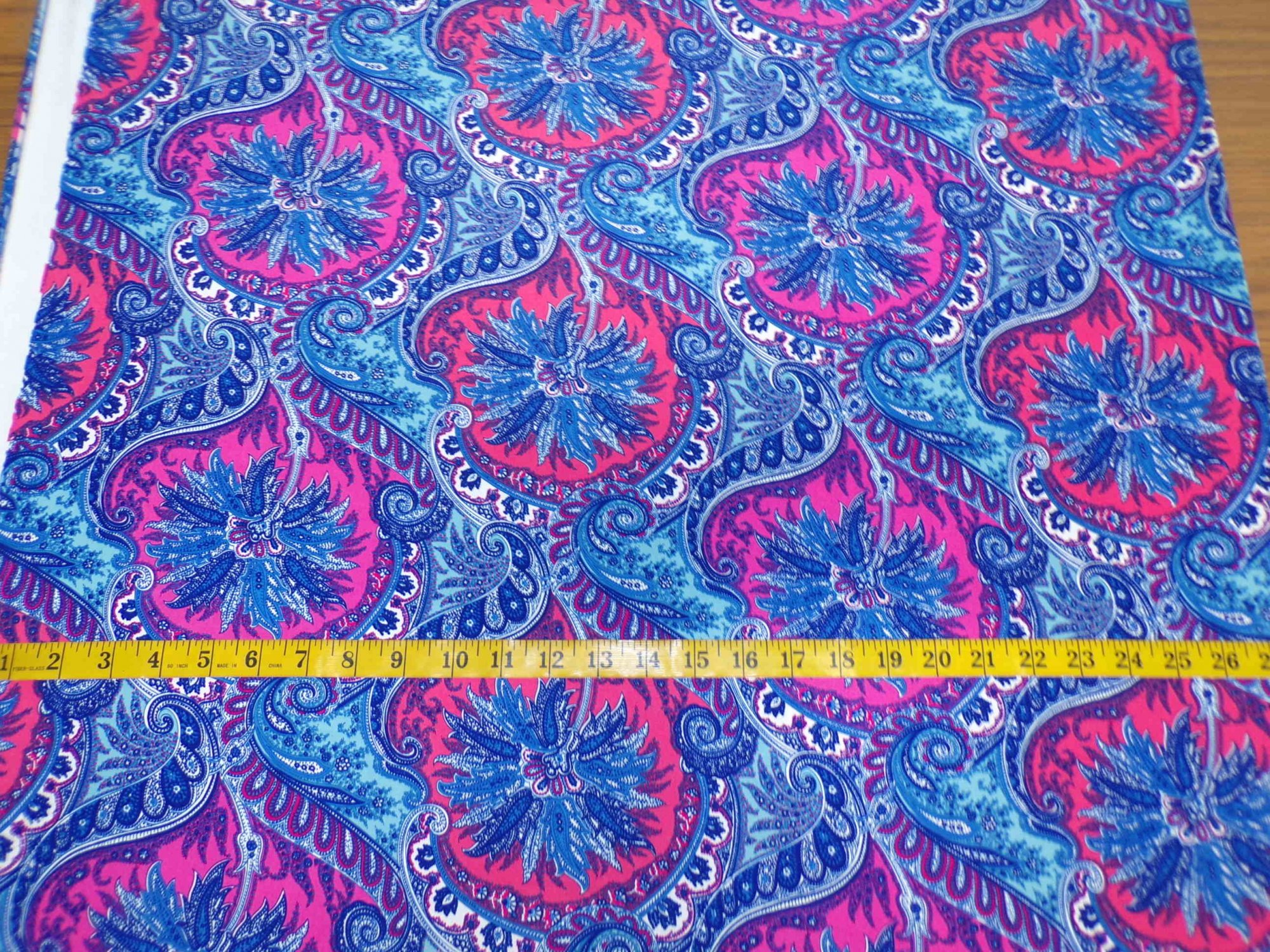 ITY Jersey – Blue and Pink Paisley