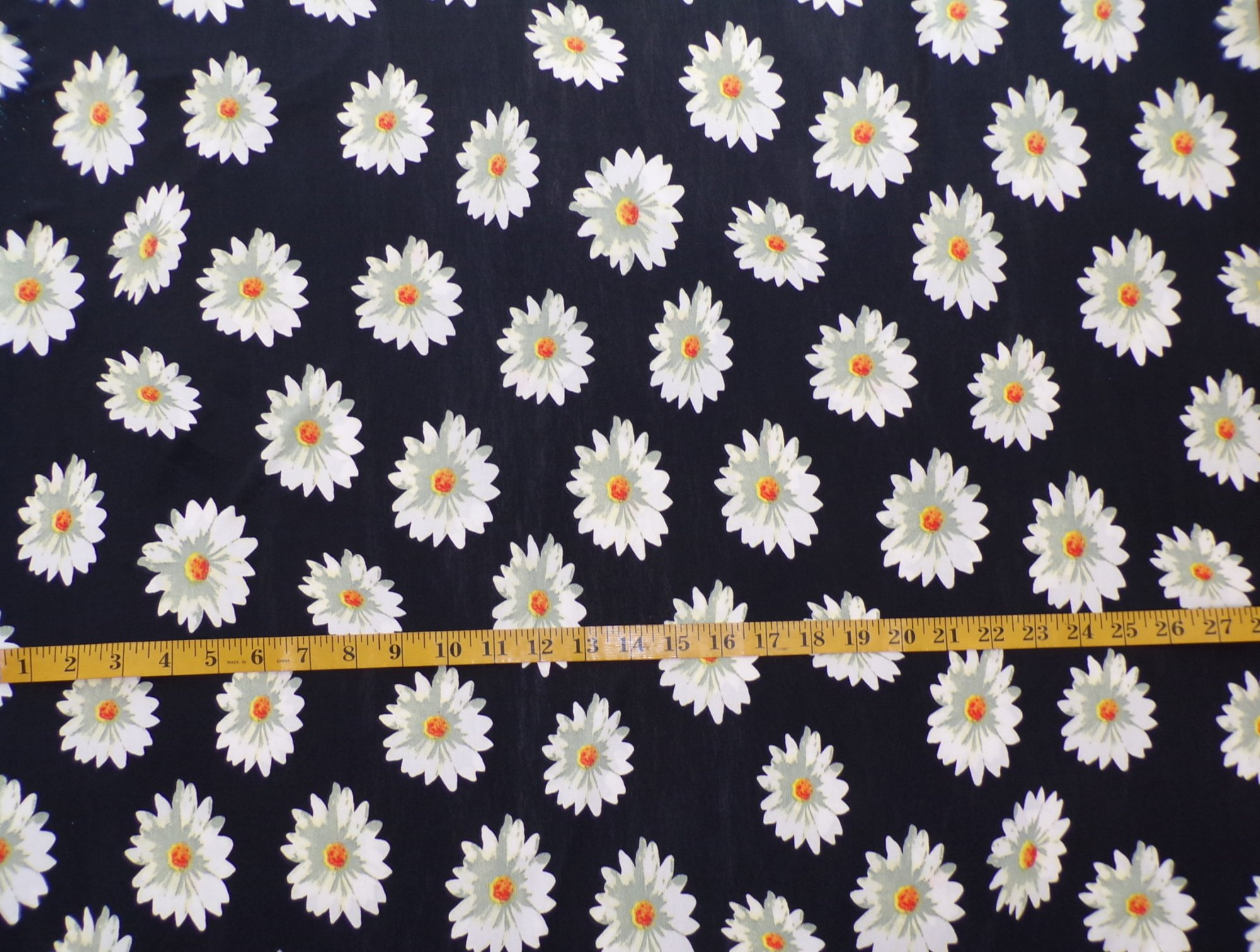 ITY Jersey - Black with Daisies