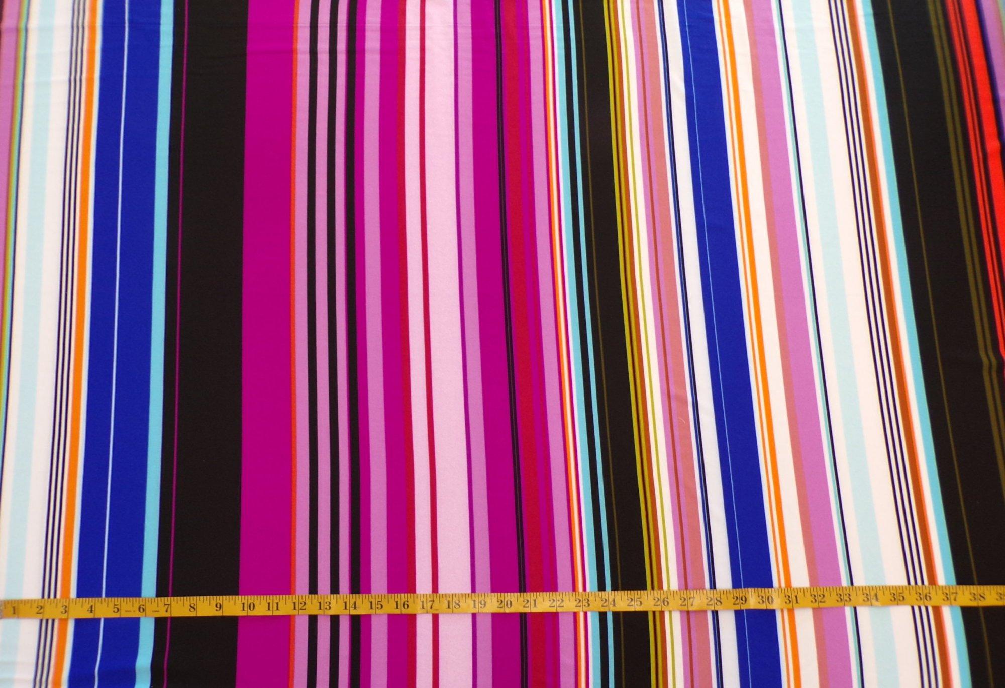 ITY Jersey - Multicolor Irregular Stripe