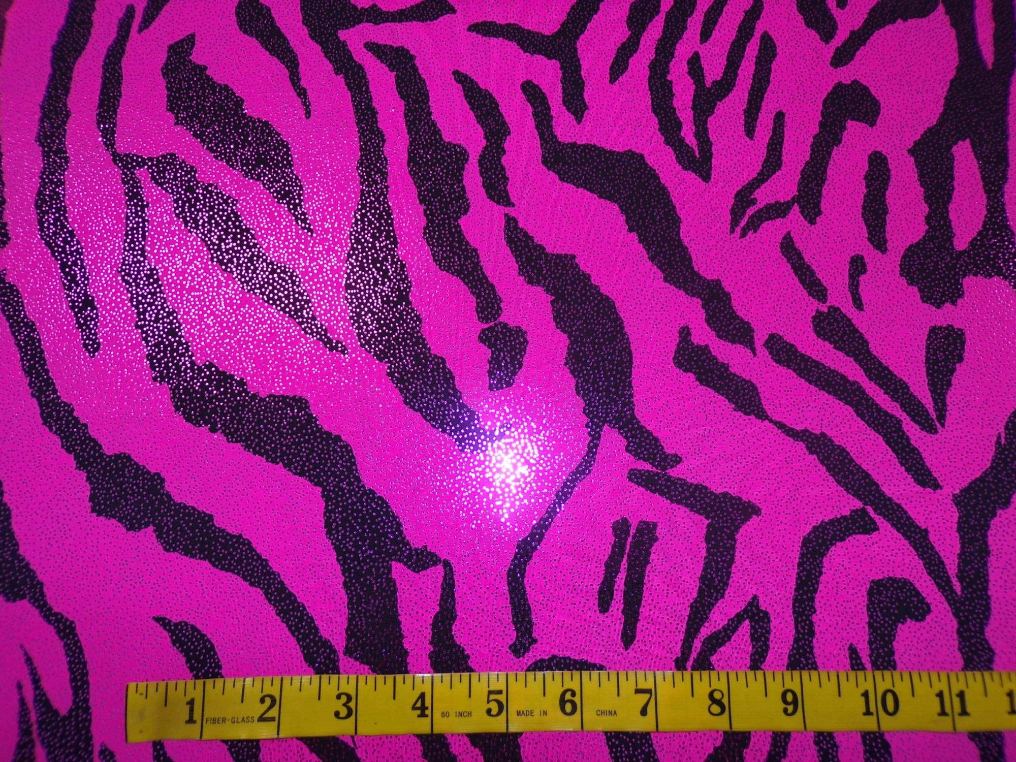 ITY Jersey - Hot Pink and Black Zebra Stripes