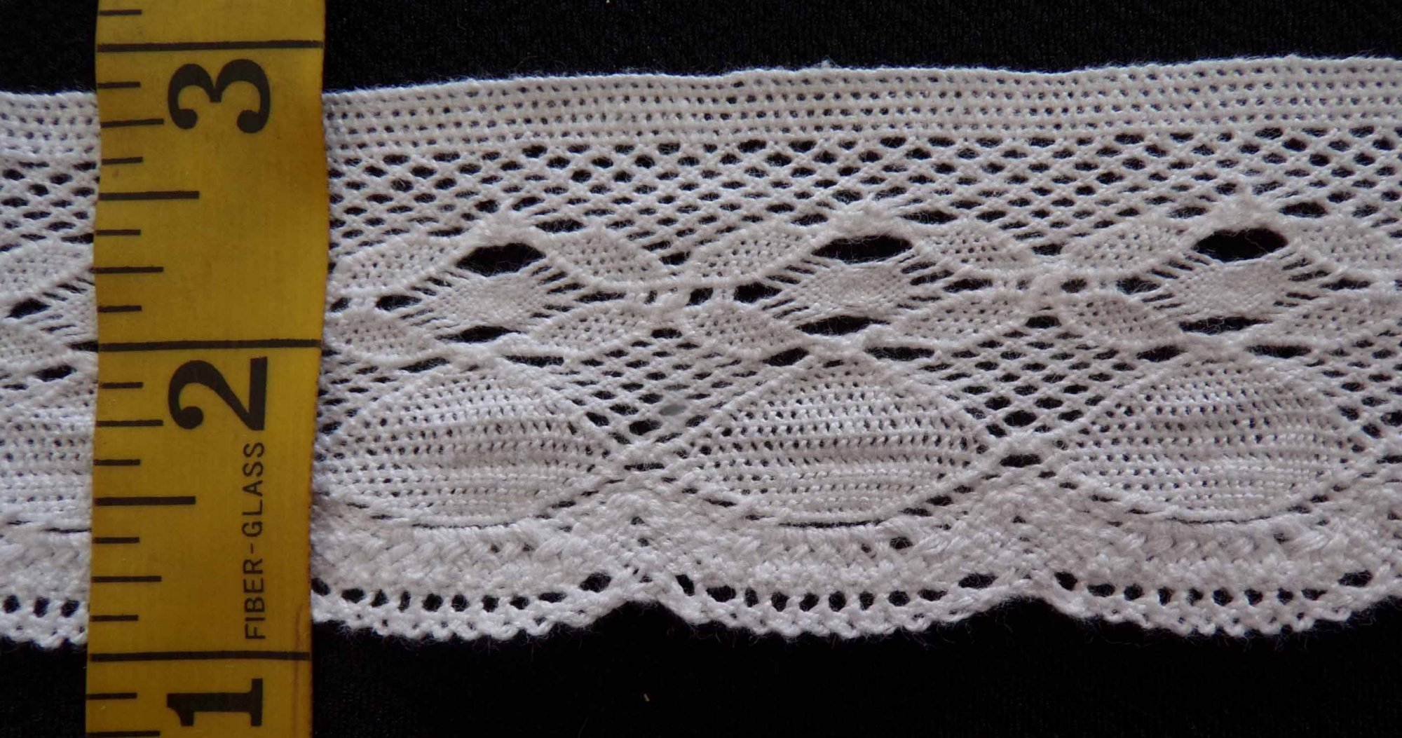 2 Cluny Lace - White