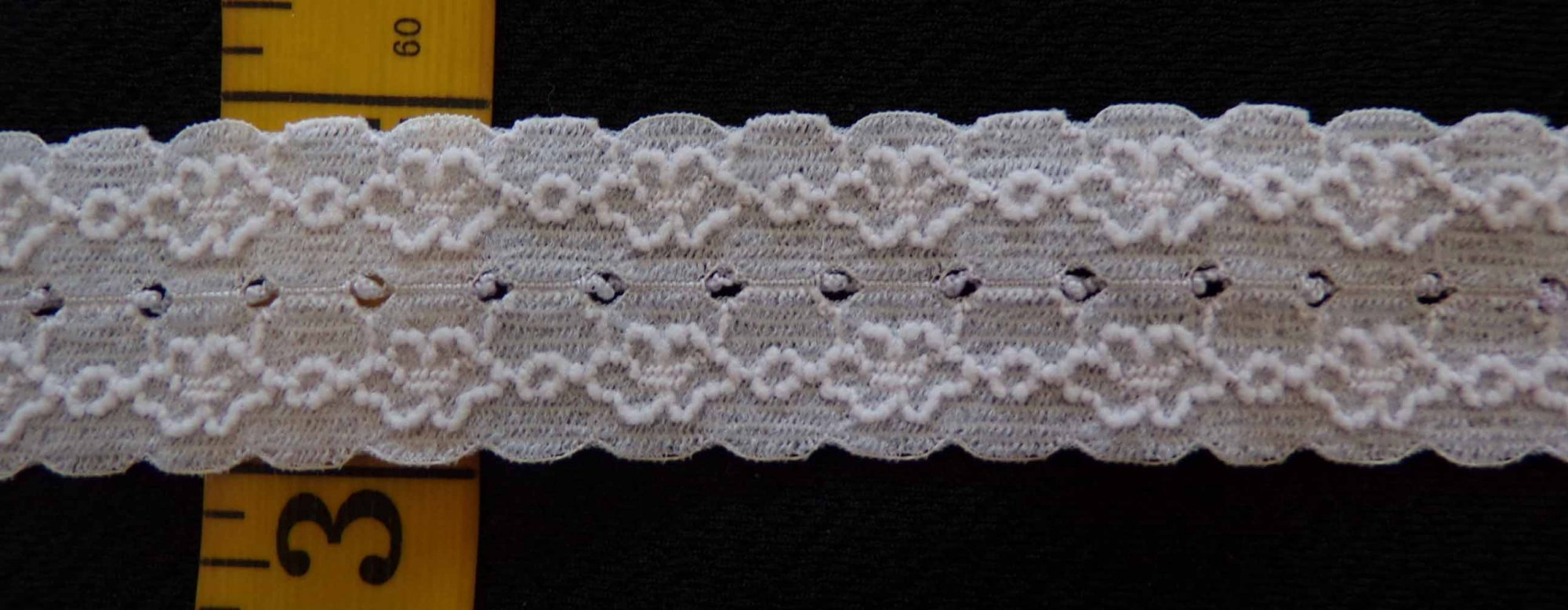 1 Light Gray Stretch lace (LGRSL100)