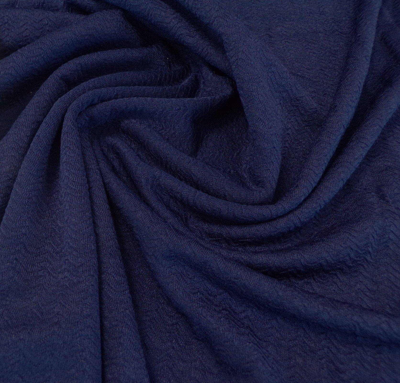 Liverpool Knit - Indigo Herringbone