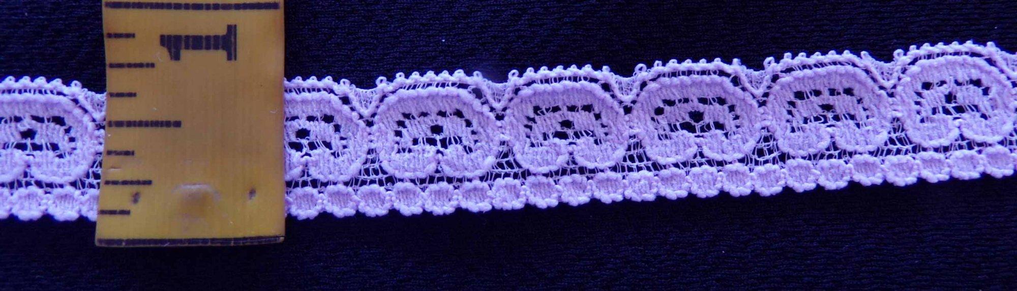 5/8 Light Lavender Stretch lace (LLSL058)