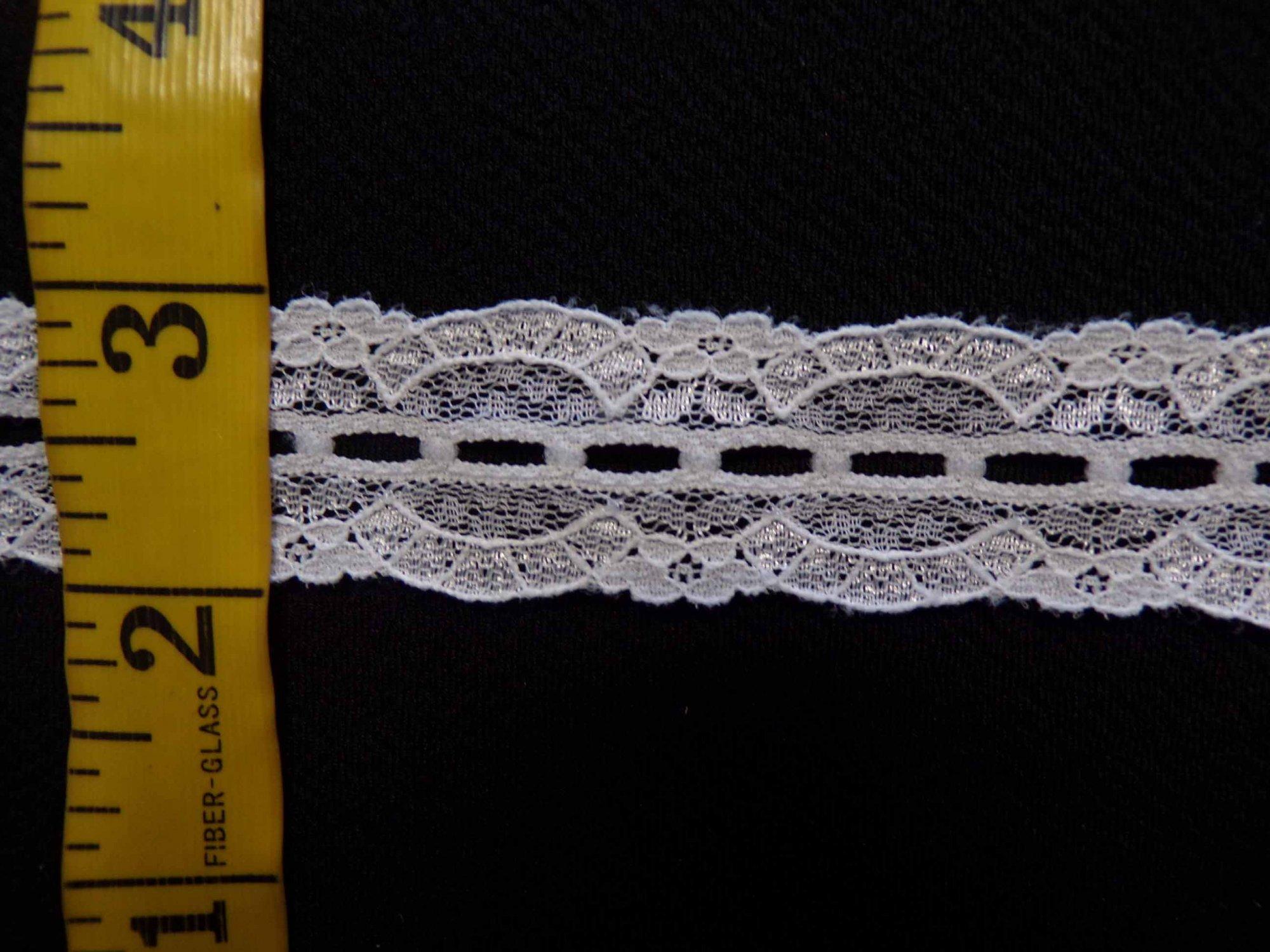 1  Rigid Lace - Raw White