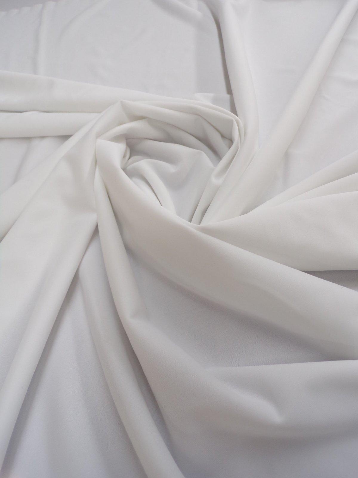 40 Denier Nylon Tricot - White