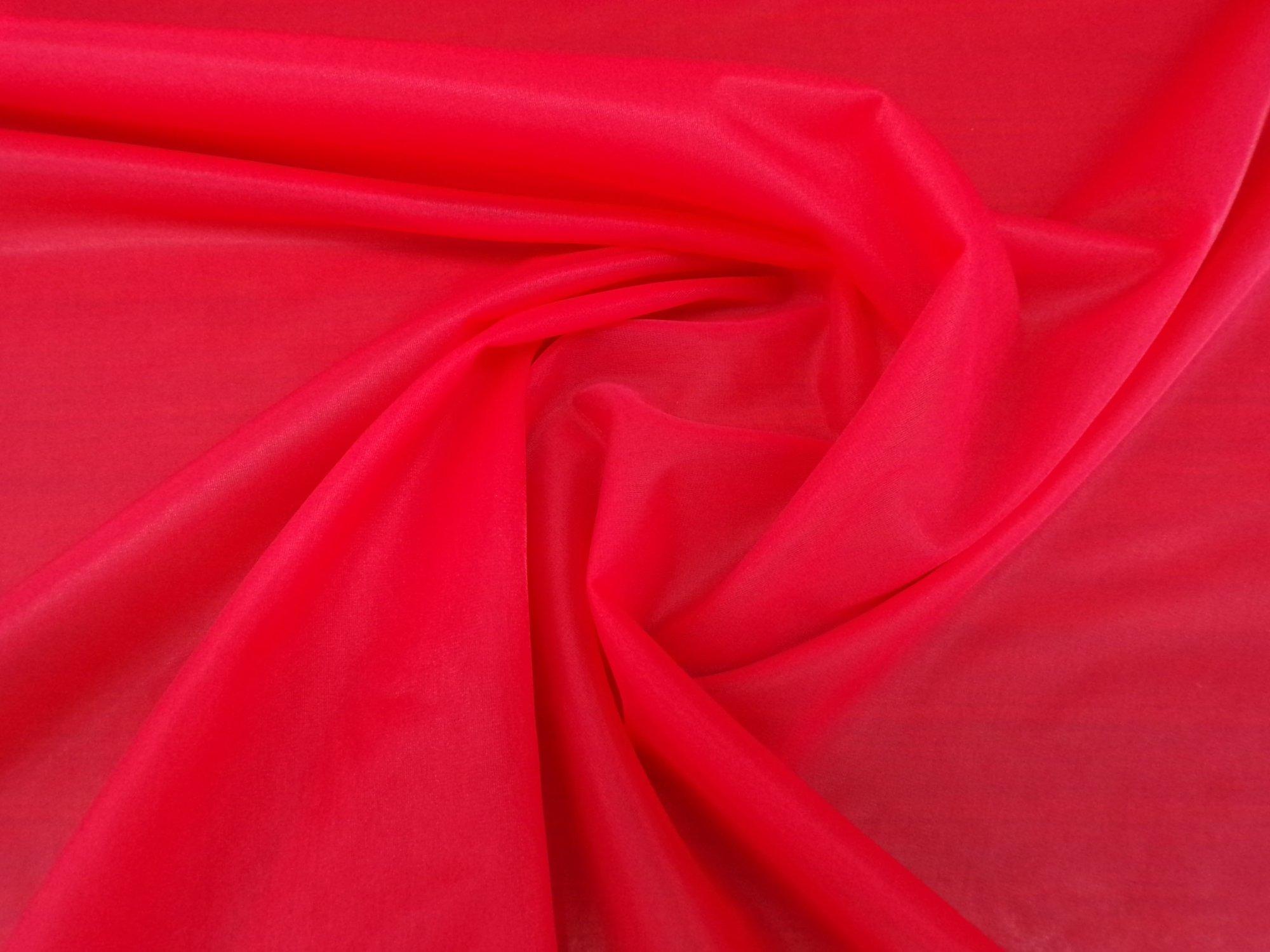 15 Denier Nylon Tricot - Sheer Red