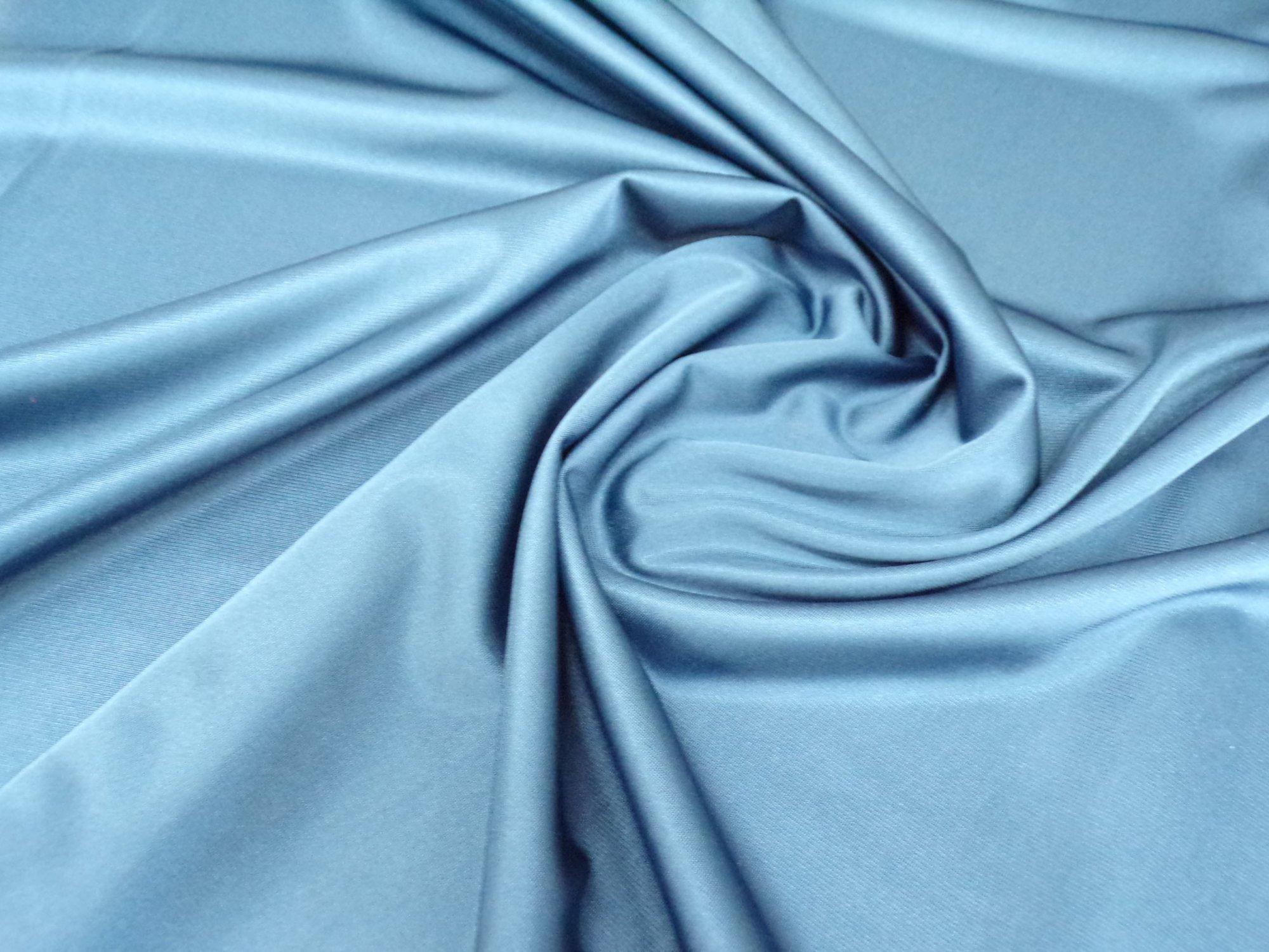 40 Denier Nylon Tricot - Cadet Blue