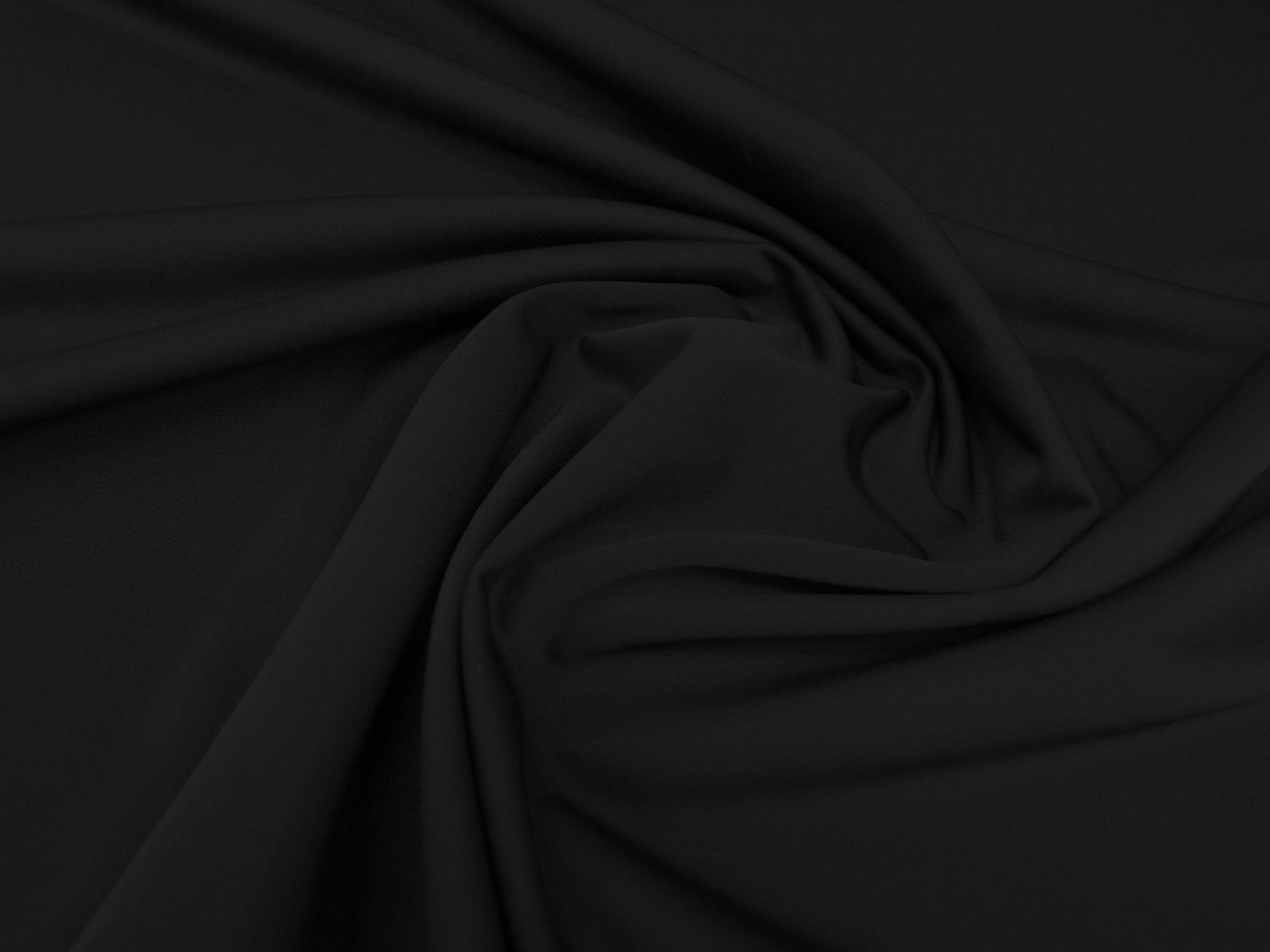 40 Denier Nylon Tricot - Black
