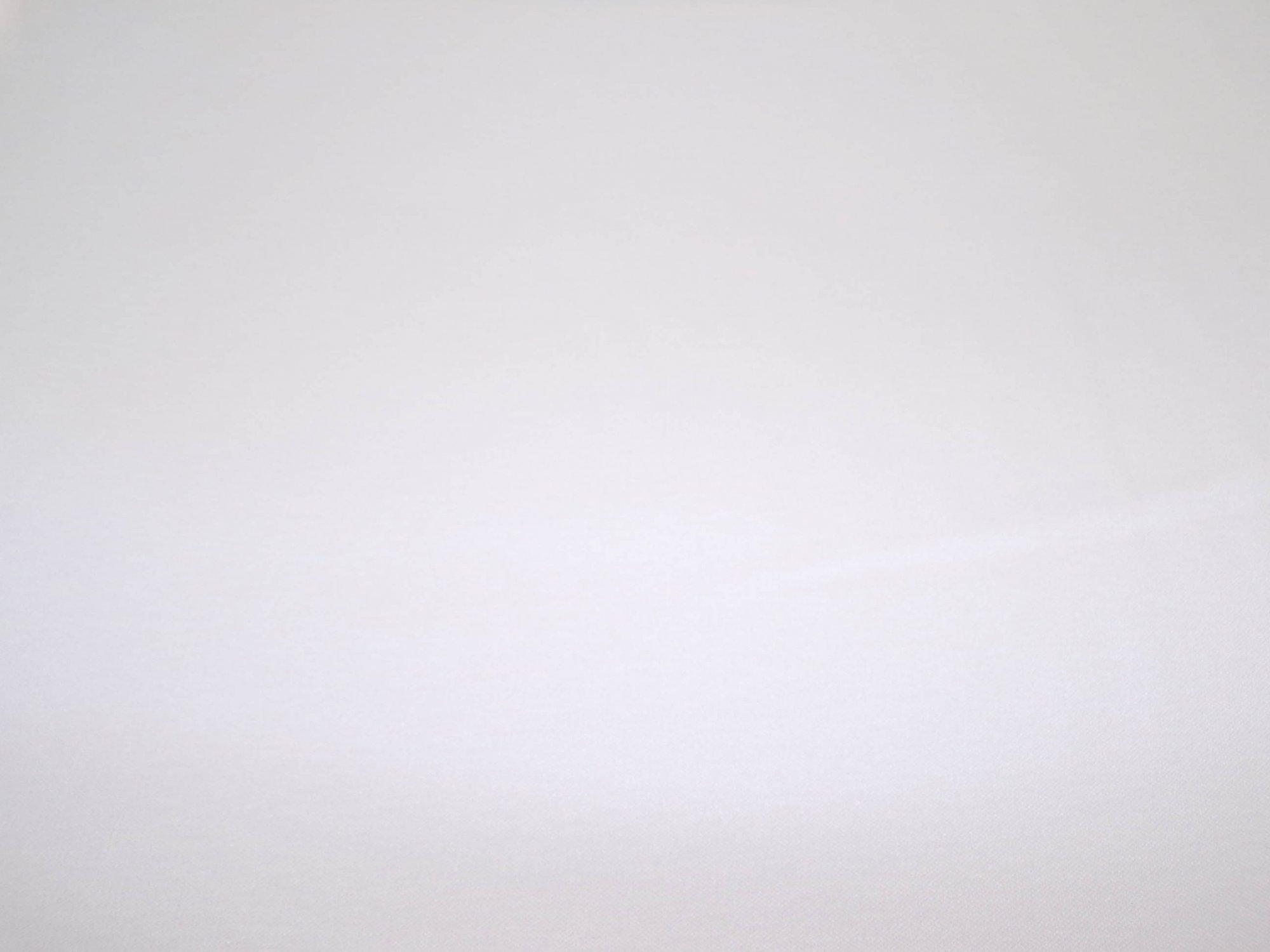 Polyester Cotton Interlock - White