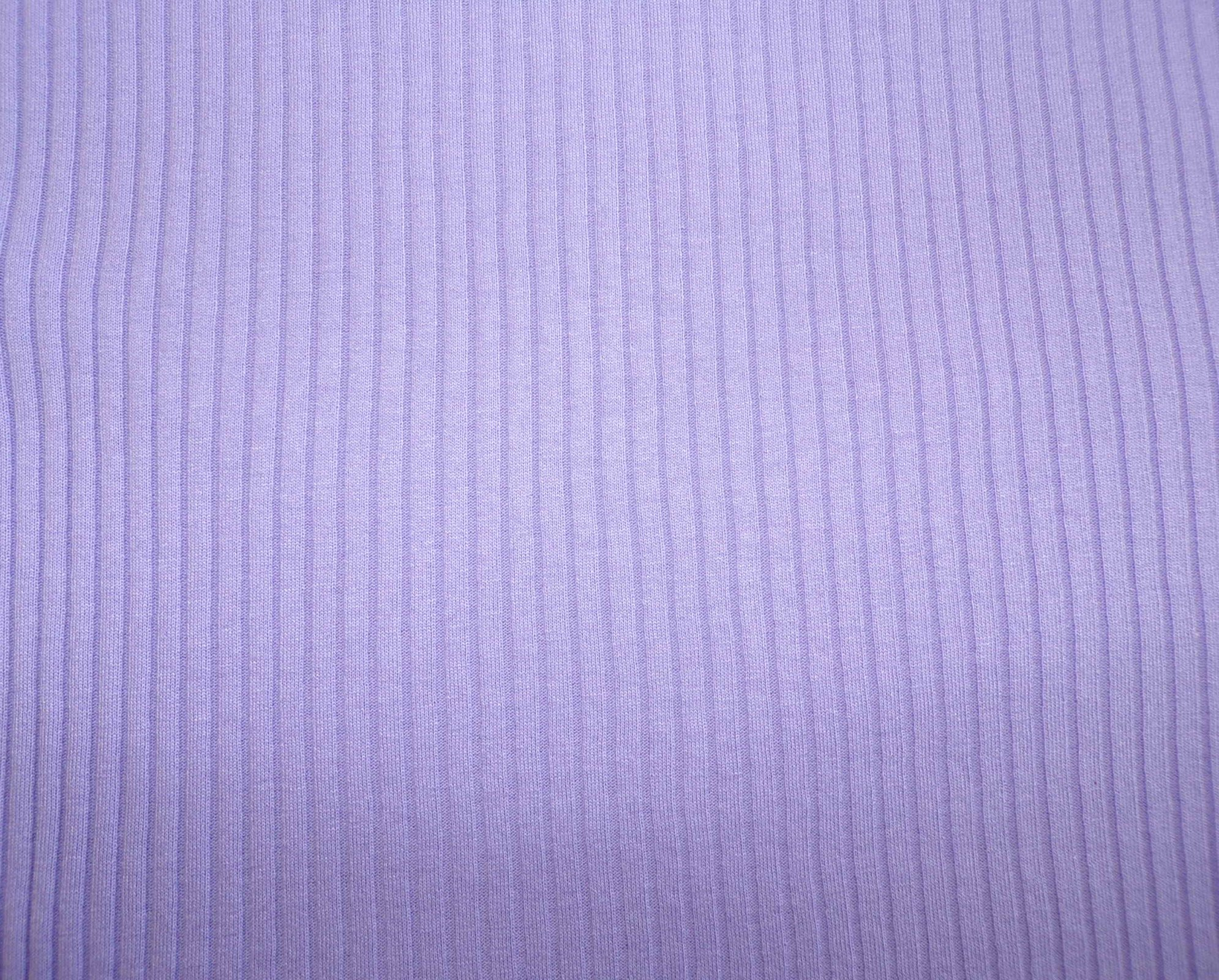 Polyester / cotton Needle-Out Jersey - Lilac