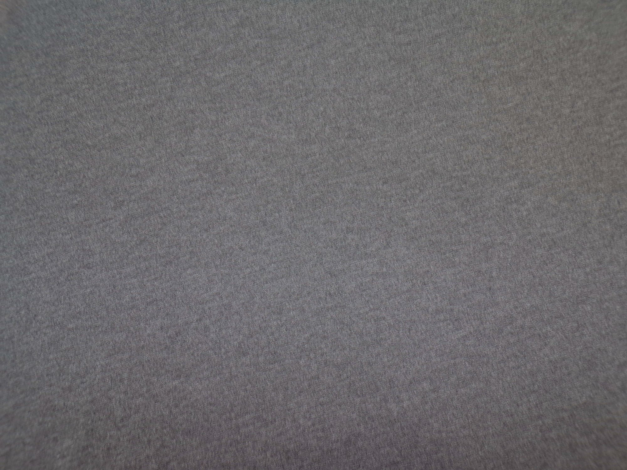 Polyester Cotton Jersey - Charcoal