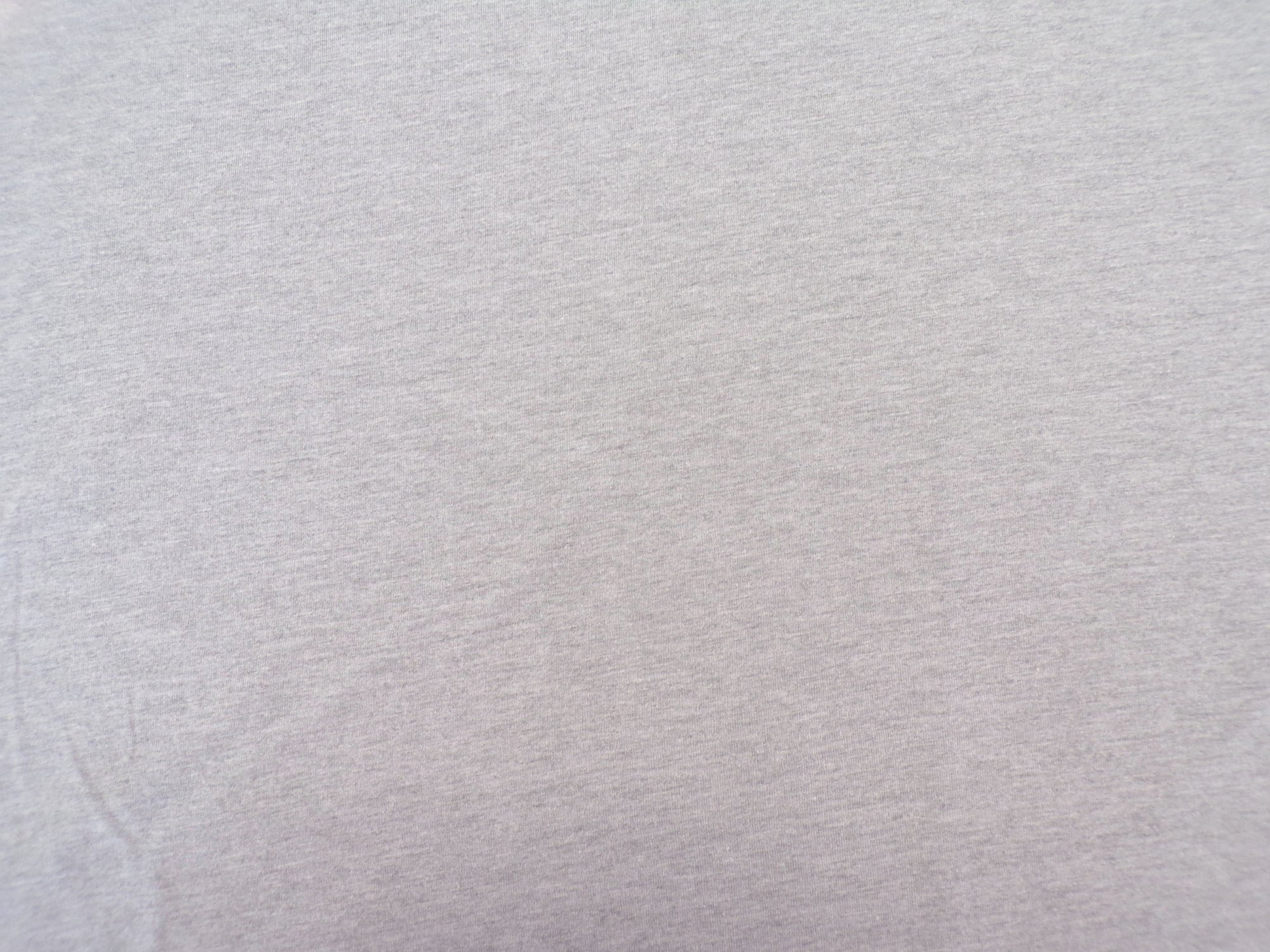 Polyester Cotton Jersey - Heather Gray