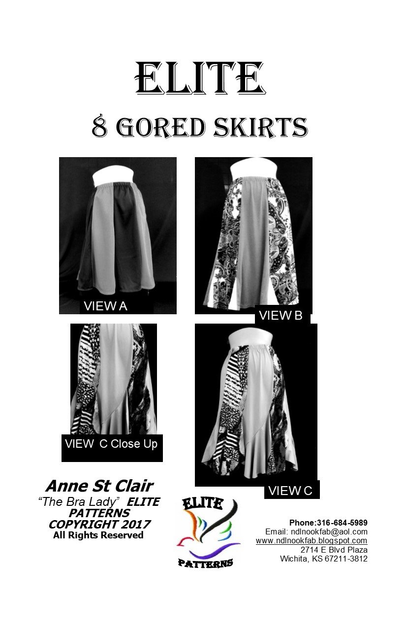 Elite 8 Gored Skirt