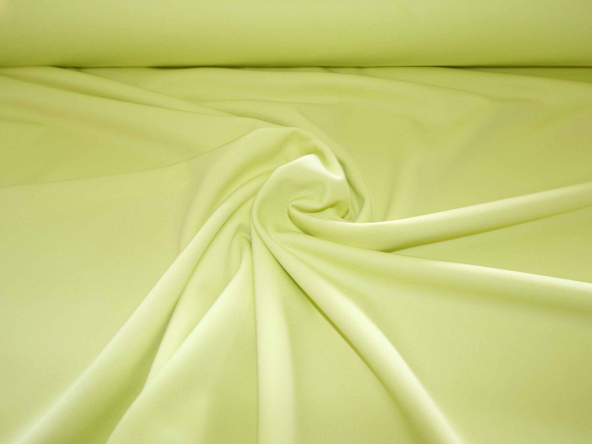Lemon-Lime Ponte (Scuba) Knit