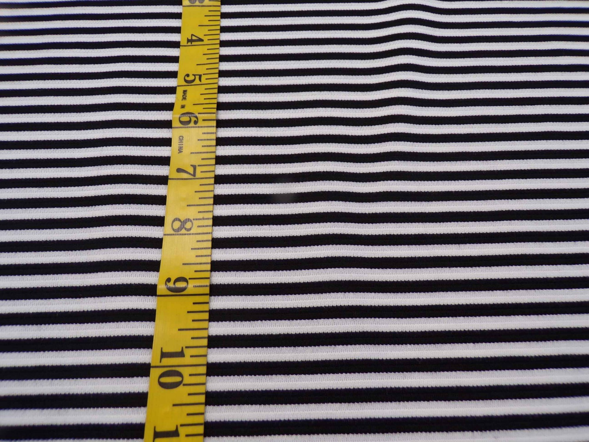 Ponte - Black and White Stripes