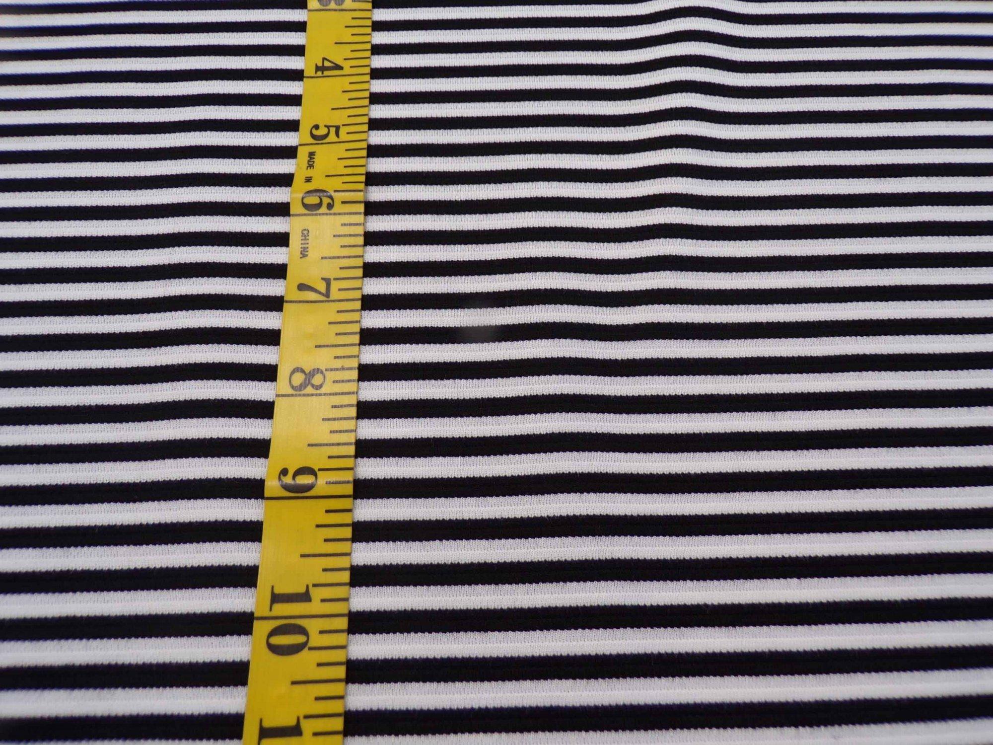 Ponte - Black and White Stripes