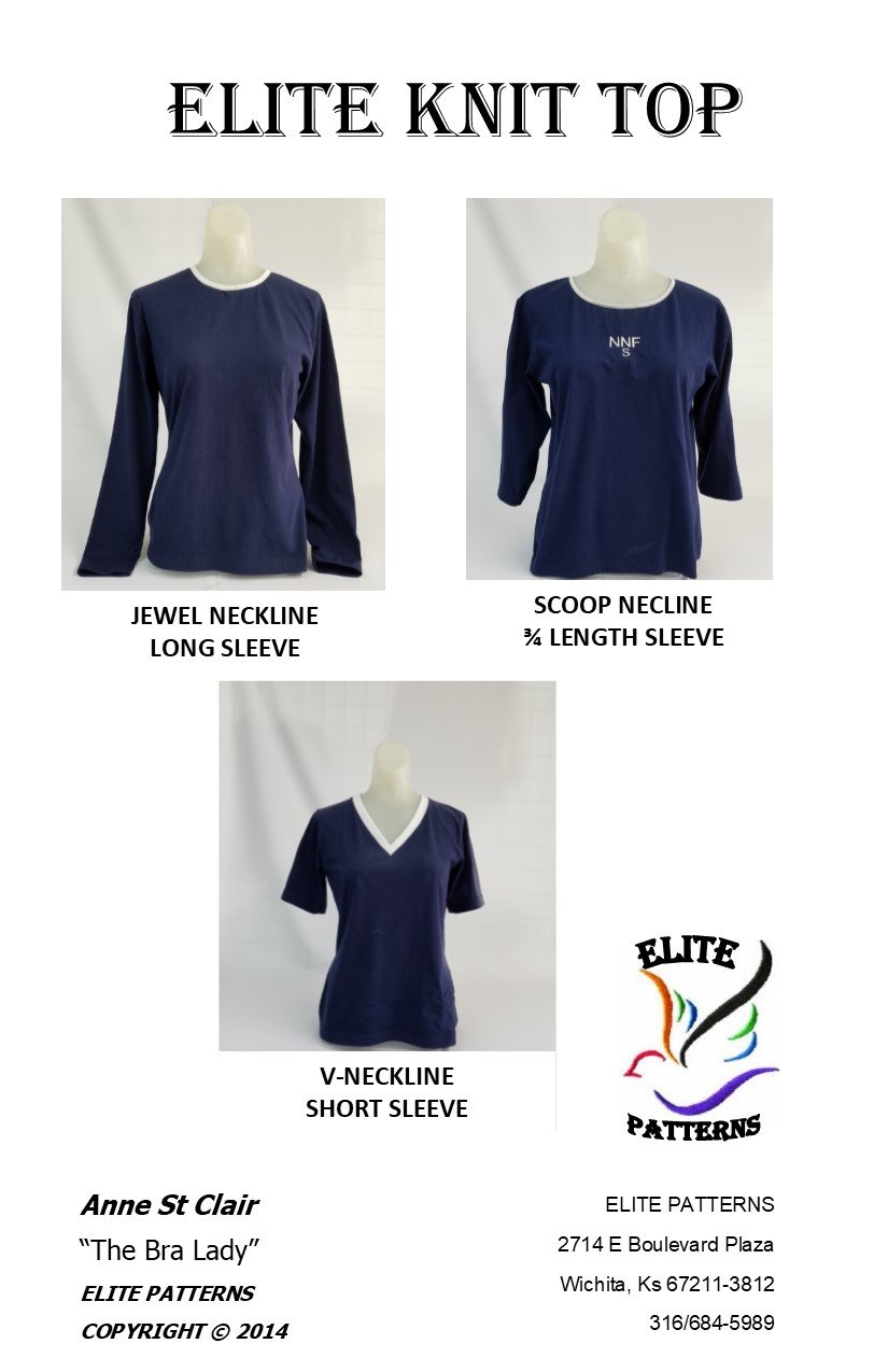 Elite Knit Tops