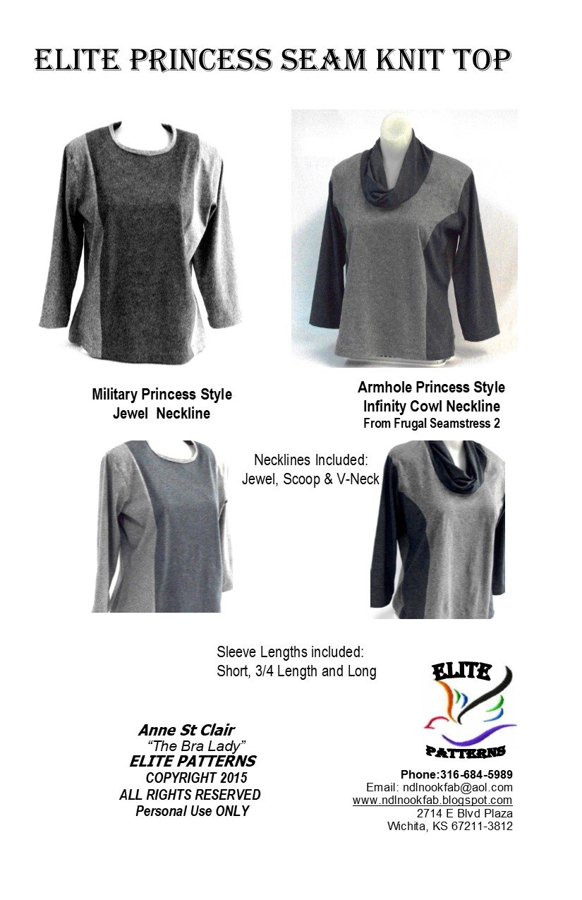 Elite Princess Knit Tops