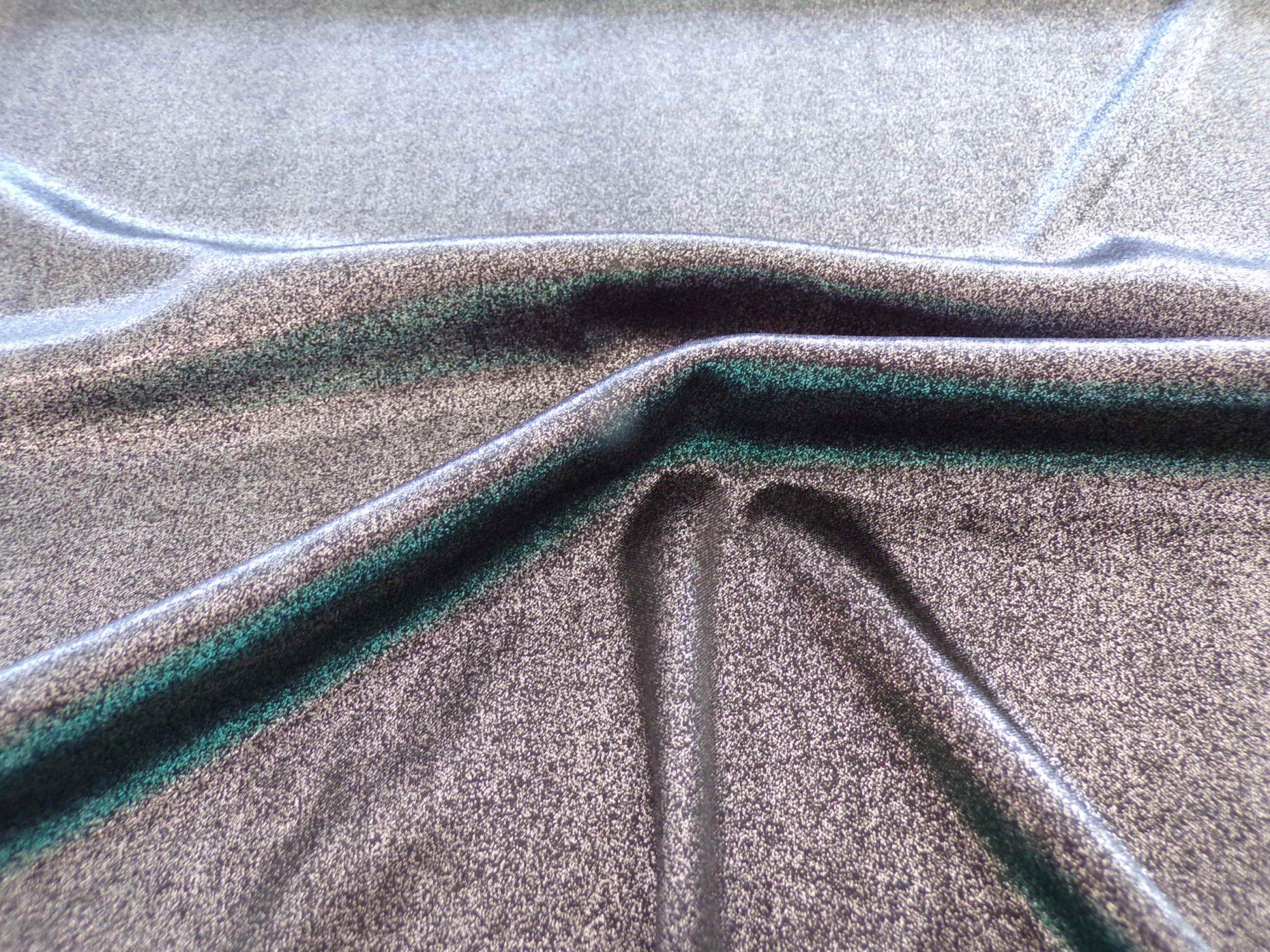 Polyester Lycra Jersey - Silver Metallic