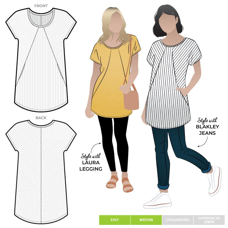 Style Arc Reece Knit Tunic