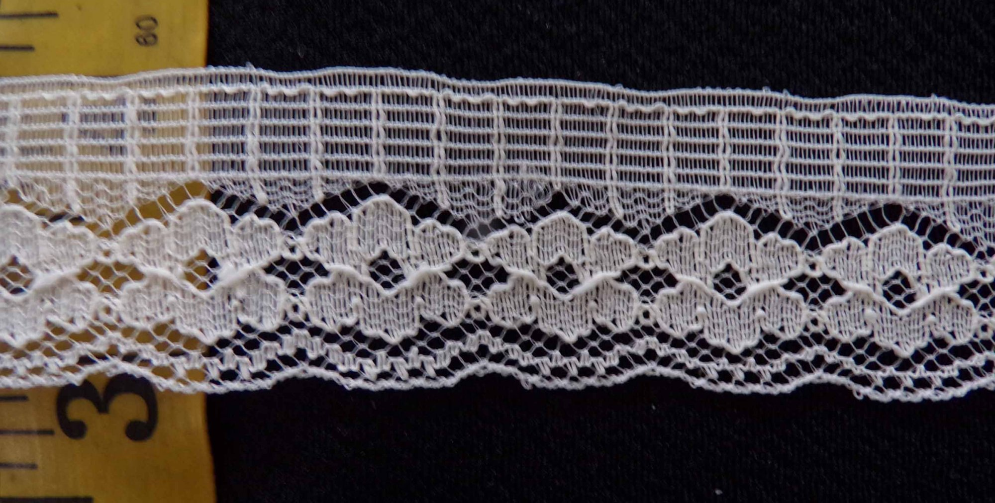 1 1/8 Rigid Lace - Beige
