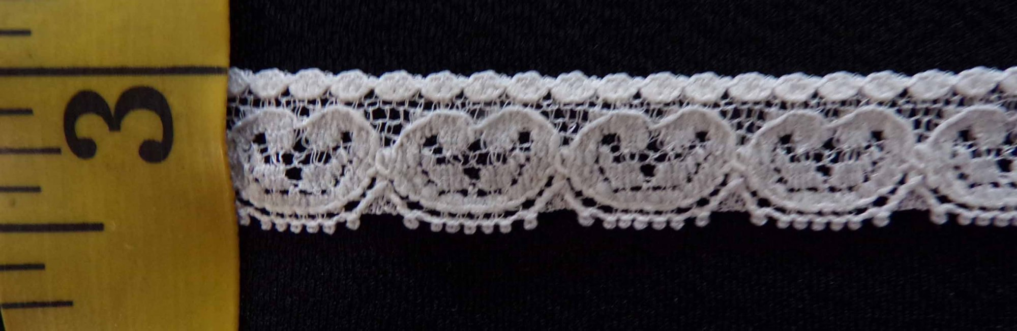 3/8 Rigid Lace - Cream