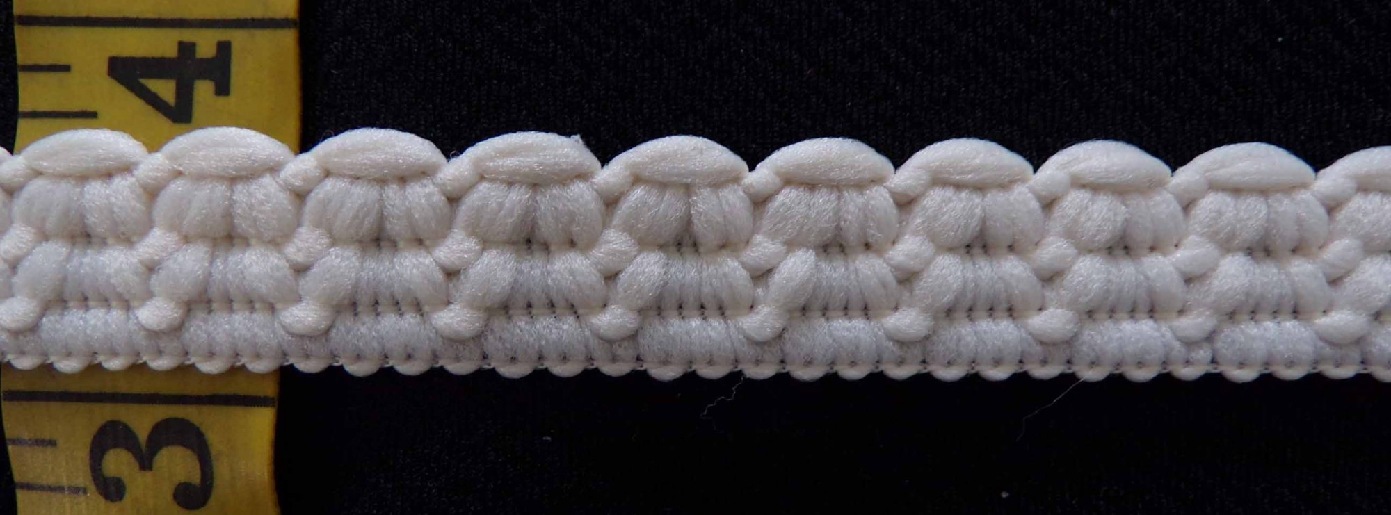 5/8  Rigid Lace  - Cream
