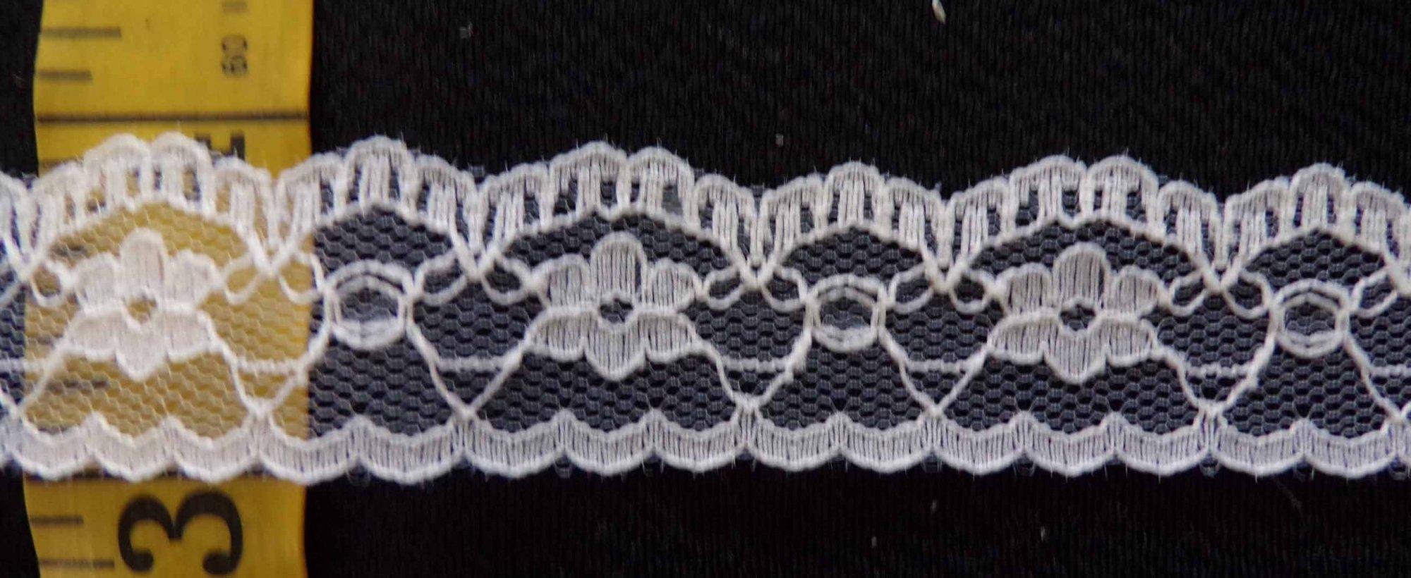 7/8 Rigid Lace  - Ivory